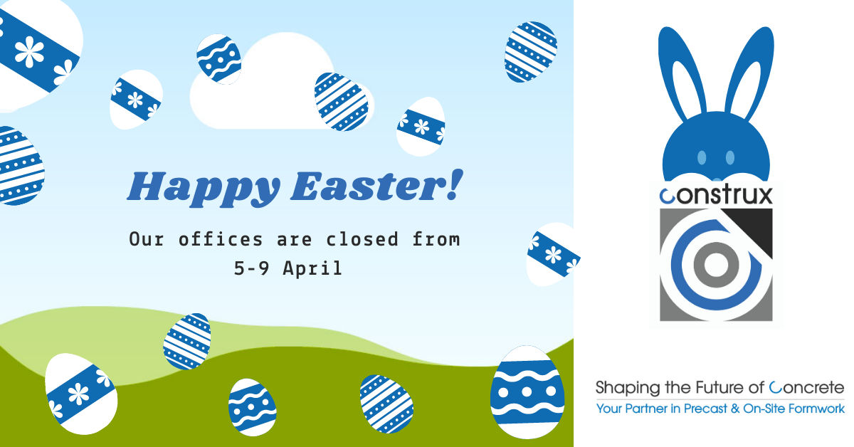 Easter Holidays @ Construx , 5-9 April