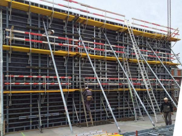 Tricon steel panel formwork • Construx