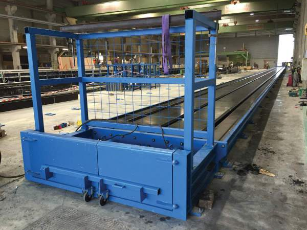 Moulds and casting beds for prestressed concrete elements